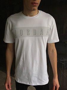 Мужская футболка Jordan.Белая