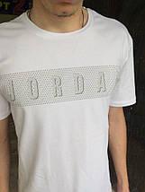 Мужская футболка Jordan.Белая, фото 2