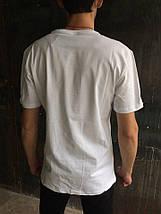 Мужская футболка Jordan.Белая, фото 3