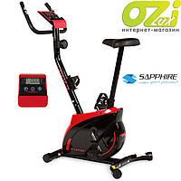 Велотренажер магнитный Sapphire SG-300B EXIS (красный)