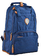 555606 Рюкзак молодежный OXFORD OX 343 (синий)