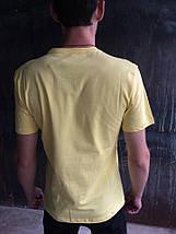 Мужская футболка Adidas.Желтая, фото 2
