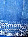 Тюль фатин белого и молочного цвета Оптом и на метраж Высота 2.8 м, фото 2