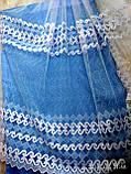 Тюль фатин белого и молочного цвета Оптом и на метраж Высота 2.8 м, фото 3
