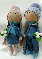 """Дизайнерская текстильная кукла - мальчик """"Артур"""" ручной работы"""