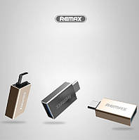 USB переходник REMAX OTG to Type-C RA-OTG1 (2 цвета)