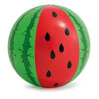"""Мяч """"Арбуз"""" 107см, ремкомплект, 3+, в кор.20*20*5см., INTEX(12шт)(58071)"""