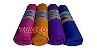 Прорезиненный коврик для йоги, Йога Мат 6мм ПВХ