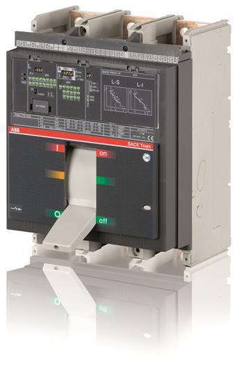 Выключатель автоматический ABB T7L 1250 PR332/P LSIG In=1250A 3p F F, 1SDA062935R1