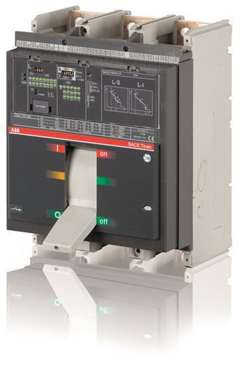 Выключатель автоматический ABB T7L 1250 PR332/P LSIG In=1250A 3p F F M, 1SDA062951R1