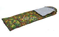 """Спальный мешок """"Кокон"""" хаки SY-4051"""
