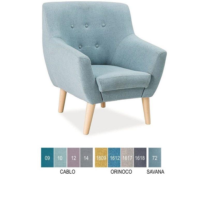 Мягкое кресло Nordic 1 (Signal)