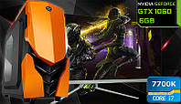 Игровой Мега Монстр ПК ZEVS PC13600U i7 7700K + GTX 1060 6GB +16GB DDR4 +SSD +ИГРЫ!, фото 1