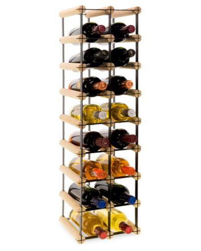 Винная полка RW-8 2x8 для 16 бутылок