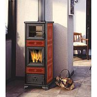 Печь отопительная на дровах Edilkamin Dafne forno (с духовкой)