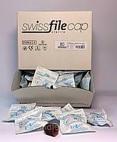 Песочные колпачки Стерильные 13 мм (100шт.) упаковка грубая абразивность (80 грит)