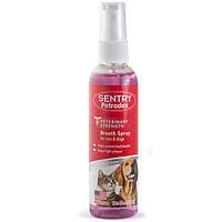 SENTRY Petrodex Breath Spray СЕНТРИ ПЕТРОДЕКС БРИЗ СПРЕЙ освежитель дыхания для собак и кошек, 118мл