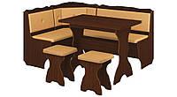 Кухонный уголок Президент с простым, раскладным столом, без стола и табуретов