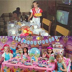 Детский день рождения в 90-х годах и сейчас!
