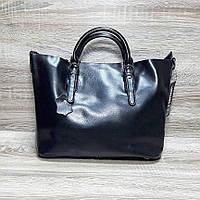 Сумка натуральная кожа   Кожаные женские сумки Черный
