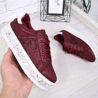 Кроссовки криперы R бордо 4682, спортивная обувь, фото 1