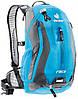 Спортивный, обтекаемый вело-рюкзак 10 л. DEUTER RACE, 32113 3423 голубой