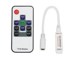 Контроллер RF RGB (10 кнопок) 12A