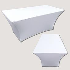 Стрейч чохол на Стіл 180х90/75 із щільної тканини Спандекс, фото 3