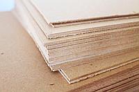 Картон переплетный в листах 420х297мм, порезка на любой формат