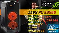 Игровой Монстр ПК ZEVS PC10450U G4600 + GTX 1050TI +8GB DDR4 +ИГРЫ +Клавиатура +Мышка!