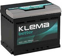 Аккумулятор Klema 50 Ач 480 А премиум класса СаСа