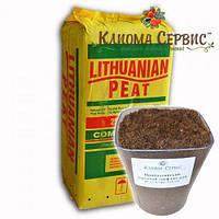 """Торф """"Lithuanian peat"""" в мешках по 250 л., 3.5-4.5 Ph, фракция 0-10 мм"""