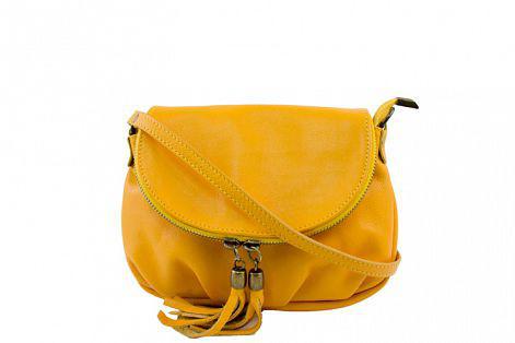 Кожаная женская сумка через плечо Мимма