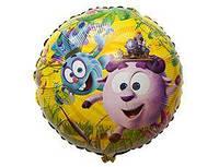 """Фольгированные шары с рисунком 18"""" Смешарики легенда FlexMetal"""