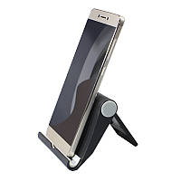 ✸Подставка Universal Stand A-1107 Черная для смартфона планшета настольная
