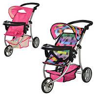 Детская коляска для кукол Melogo 9377 B-T