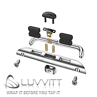 Адаптер для ремешка Luvvitt Apple Watch 42mm silver