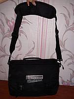 Черная мужская сумка портфель, фото 1