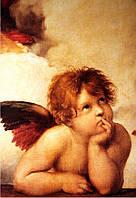 Фотообои фреска  ангелок