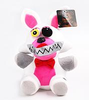 Мягкая плюшевая игрушка 5 ночей с Фредди Кошмарный Мангл Аниматроники. Фнаф , фото 1