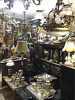 Аренда прокат реквизита декора помещений для съемок  мебель и предметы быта старинные вещи и живопись