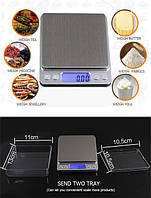 Весы ювелирные лабораторные 0.01-500 грамм, фото 1