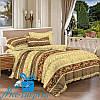 Полуторное постельное белье из сатина ВИРДЖИНИЯ (150*220)