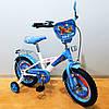 Детский двухколесный велосипед 14 дюймов Авіатор Tilly T-214210 White + Blue