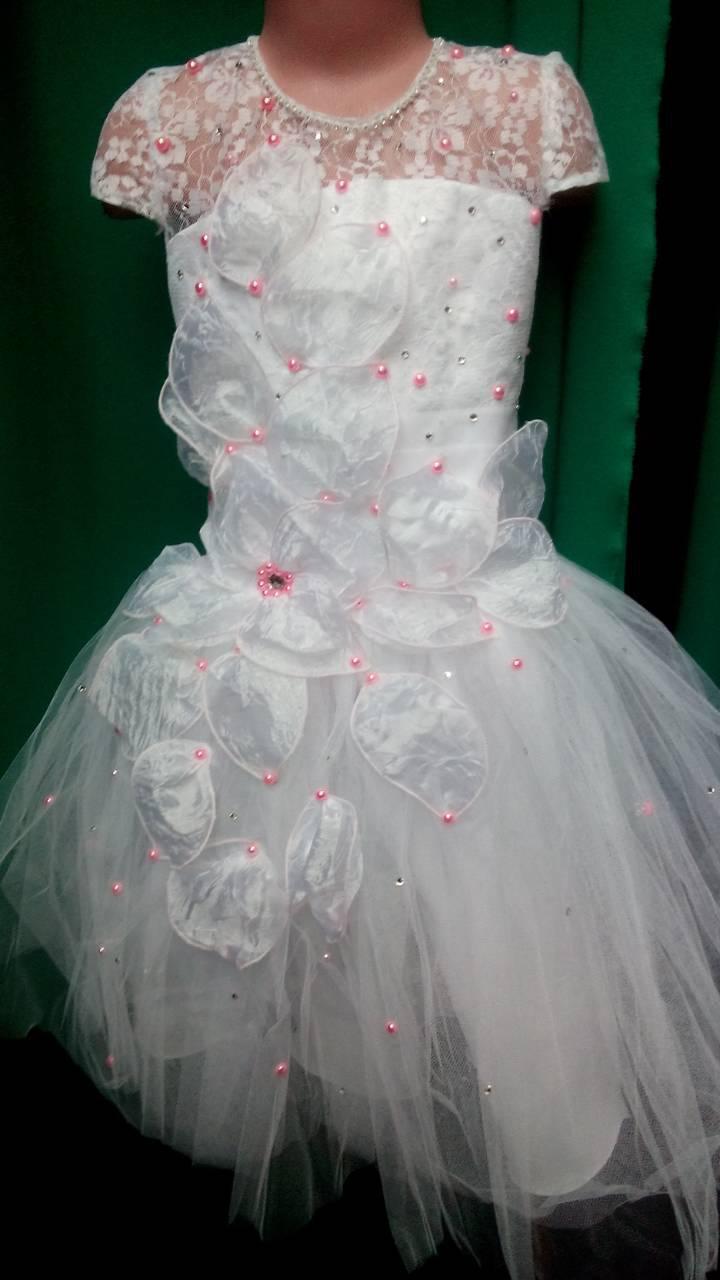 Нарядное платье для девочки 2018-1 - Интернет магазин производитель женской  одежды ТМ Леннели в 7027e6e3989