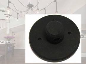 Потолочный крепеж провода для люстры паук силиконовый, фото 2
