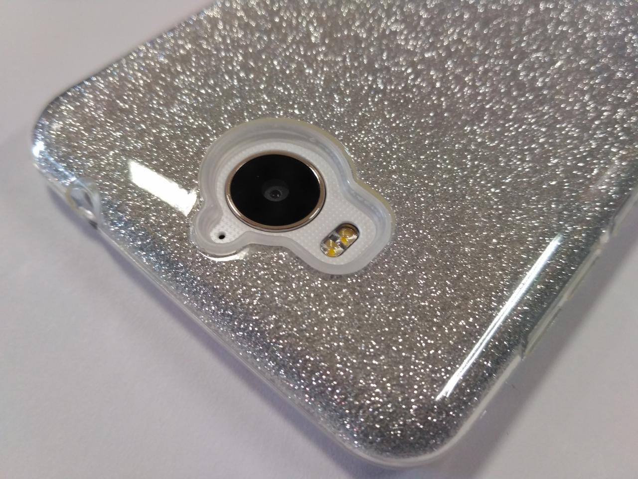 Чехол для смартфона Huawei Y5 2017 (U29) перелив серебристый