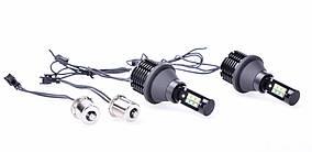 Автолампи LED DRL/turn, ДХО, Поворот LG3535/Epistar, CANBUS, 1156, P21W