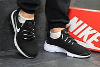 Кроссовки мужские Nike Air Presto Fly Uncaged код товара SD-5121. Черно-белые