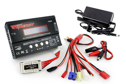 Универсальное зарядное устройство Tenergy TB6-B для аккумуляторов NiMH/NiCD/Li-PO/Li-Fe, фото 2
